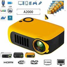Mini Portable Pocket Projector HD 1080P Movie Video Projectors Home Theater HDMI
