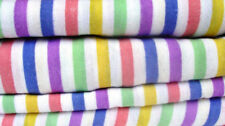Thermal Flannelette Sheet Set Fitted Flat Pillowcase Candy Stripe Bedding