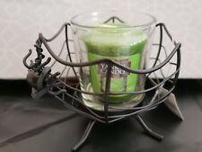 Yankee candle forbidden apple votive and spider web votive holder halloween