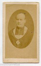 CDV.  Portrait artistique . Prêtre . Religieux . Médaille . J. VALLETTE . PARIS