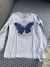 Maillot / T Shirt manches longues gris ZARA / Taille 8 Ans
