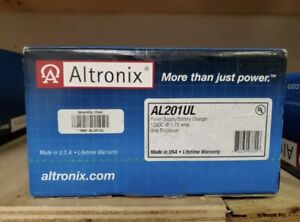 ALTRONIX AL201UL 12VDC Power Supply Charger 1.75 Amp -  New sealed