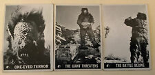 1966 Lost In Space Lot of 3 #48 #49 #53 Topps Trading Cards - U.S.A. Vintage