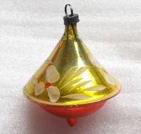 Antiker Russen Christbaumschmuck Glas Weihnachtsschmuck Ornament Old Yule