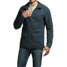 Barbour Craglough Men's Sweater Jacket  - Navy,  Size M  MSRP $269.00
