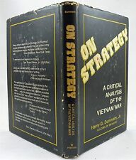 On Strategy A Critical Analysis Of The Vietnam War By Harry G. Summers, Jr. HBDJ