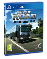 On The Road Truck Simulator PS4 Playstation 4 Truck Driver Sim SHIPPING NOW