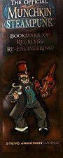 Munchkin Steampunk Promo Bookmark of Reckless Re-Engineering Steve Jackson Games