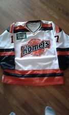 Fort Wayne Komets Mitch Woods game used jersey
