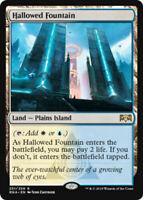 MTG Hallowed Fountain Ravnica Allegiance RARE Magic the Gathering NM/M SKU#326