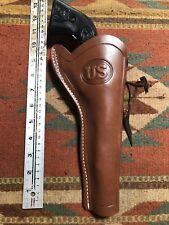 Fit Ruger Single Six & Nine 22 Caliber 17HMR 6.5 Western Leather Holster Slim US