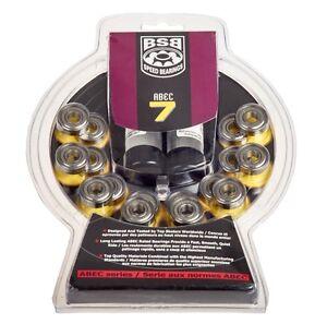 BSB- Lager. 16 Teile Set, ABEC 7. doppelt stahlbeschichtet. Inliner. Hockey.