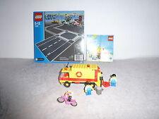 "Lego City 7280 NEU+OVP+UNGEÖFFNET+OBA +6693 Müllauto+Radfahrer*Rarität"""
