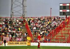 PHOTO  1988 THE VISITOR'S TERRACE AT THE CITY GROUND