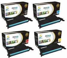 4PK CLP-660 Color Toner Cartridge for Samsung CLP660 CLP610 CLX6200 CLX6210