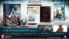 Nintendo Wii U Game Assassin's Creed 3 Join or Die Collector´s Edition NEW