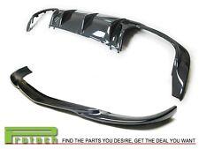 Carbon Fiber C63 Look Diffuser + GH-Type Front Lip 2012+ W204 C250 C300 C350 4Dr