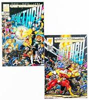 Break-Thru #1 & 2 Mini Set (1993 Malibu/Ultraverse) Unread! NM
