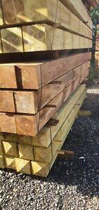 Pressure Treated Timber Gate Post 3000mm x 150mm x 150mm Garden Pergola