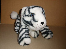 White Tiger Cub Soft Stuffed Plush Toy 13 IN EXCELLENT