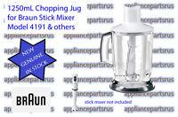 Braun MQ40 Stick Mixer Jug Assembly 4191 Part 7050296 BR67050296 AX22110004 NEW