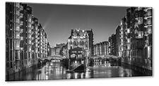 Leinwand Bild Leinwand Bild Hamburg Speicherstadt Wasserschloss Holländischbrook