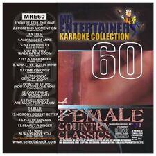 Mr Entertainer Karaoke MRE60  Female Country Classics  CDG