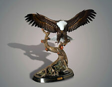 BRONZE Eagle Amazing Detail!!! Limited Edition SCULPTURE by BARRY STEIN