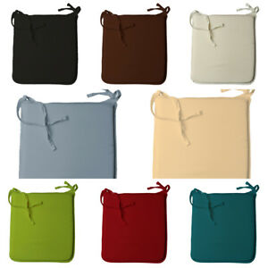 4 Thick Tied Seat Chair Seat Pads Office Kitchen Garden Chair Car Seat Cushion