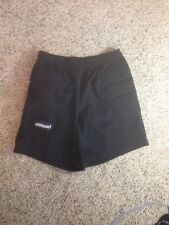 UHLSPORT  FOOTBALL SOCCER GOALKEEPER PADDED SHORTS ADULT MEDIUM BLACK MENS KED