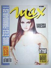 Magazine / revue MAX french #50 septembre 1993 Vanessa Paradis