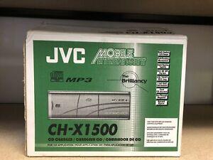 JVC CH-X1500RF Compact Disc Changer 12 Disc MP3 CD-RW Playback - Brand New -