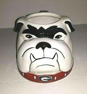 Georgia Bulldogs NCAA 18 oz Sculpted Mascot Mug