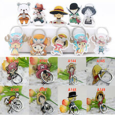 Anime One Piece Sticky Finger Ring Holder Desk Stand Grip Mount for Cellphone