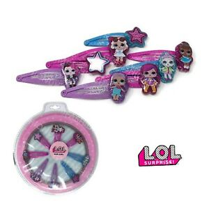 Official L.O.L LOL Surprise Girls 3D Hair Clips Accessories Clip Gift Set New