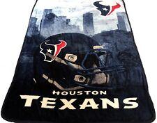 Houston Texans blanket bedding 60x80 Silk type FREE SHIPPING NFL Texans throw