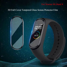 3D Full Cover Tempered Glass Screen Protector For Xiaomi Mi Band 4 Smart Watch
