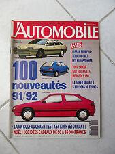 Magazine L'Automobile 534 Nissan Primera 405 SR R21 TSE Mercedes 190 W201 Evo II