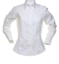 Women's Waist Length Cotton Blend Fitted Blouse Tops & Shirts