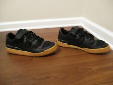 Used Worn Size 13 Adidas Forum Low Shoes Black Gum