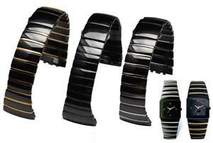 29mm /26mm men's Ceramic Band Strap bracelet (compatible with) RADO SINTRA