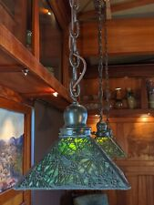 Handel Pine needle hanger 1 of 3 available, lamp,mission,arts and crafts