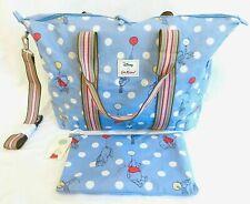 Cath Kidston Disney Winnie The Pooh Travel Bag Overnight Foldaway Handbag Pouch