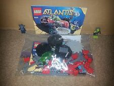Lego Atlantis Seabed Scavenger 8059 COMPLETE w/ instructions no box