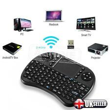 2.4G Mini Wireless Touchpad Keyboard For KODI Android Smart TV Box PC UK Stock