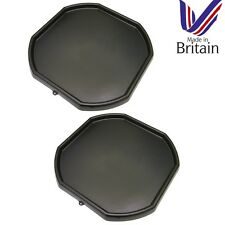 2 x Black Plastic Mixing Tray Kids Play Fun Sand Water Builders Spot for Cement