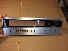 Sherwood S-7200 Receiver Parts - Faceplate in good condition