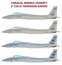 Caracal 1/48 McDonnell F-15A/C Hawaiian Eagles # 48091