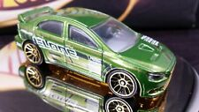 Hot Wheels 2008 Olive Green '08 Lancer Evolution Racing Clear Windows RACING