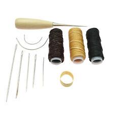 12 teiliges Lederhand Nähset für Anfänger in der Lederkunst